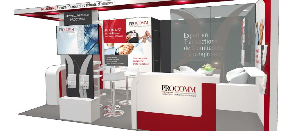 Procomm est pr sent franchise expo paris du 25 au 28 for Le salon de la franchise